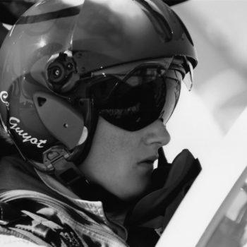 Virginie Guyot, ancienne pilote de chasse et speaker